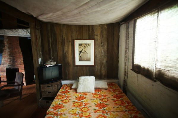 ... and the guest room