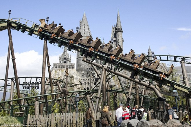 Outdoor roller coaster, called Flight of the Hippogriff will give visitors an interesting experience