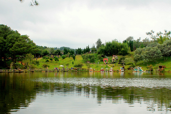 Dalat is always romantic, peaceful place for recreation. Photo: Phuoc Binh