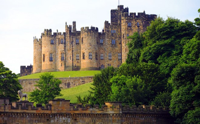 Alnwick Castle is one of the most iconic castles in the UK.