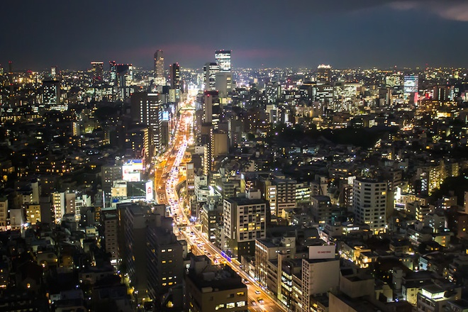 Experience Tokyo by night once in your life