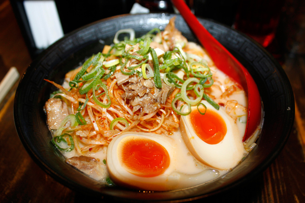 Yamagata is where the Japanese ramen is mostly consumed