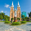 Saigon Notre Dame Cathedral - one of must-visit attraction of Ho Chi Minh City, Vietnam