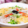 Delicious kinds of rice vermicelli make a part of Vietnamese food