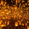 Travel to Chiang Mai in November to Join a Fairy Colorful Lanterns Festival