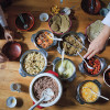 What is in the meals of the happiest country in the world?